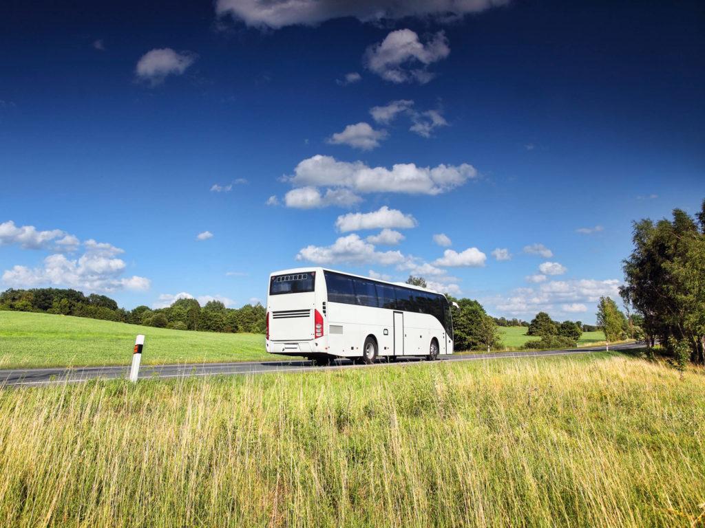 Mit dem Reisebus Unterwegs