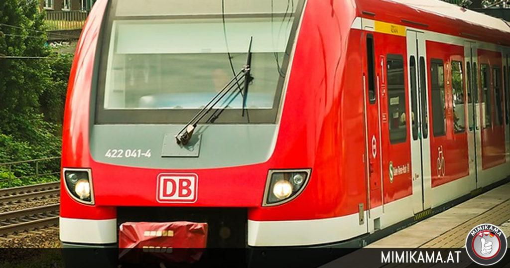 Die deutsche Bahn.
