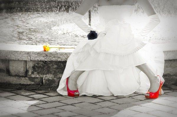 Wo ist der Brautschuh?