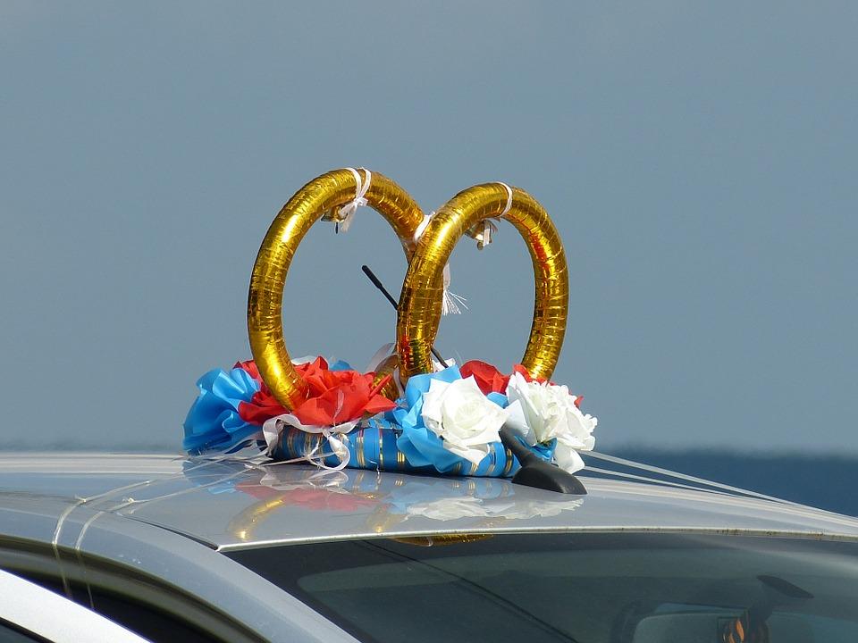 Hochzeitsauto.