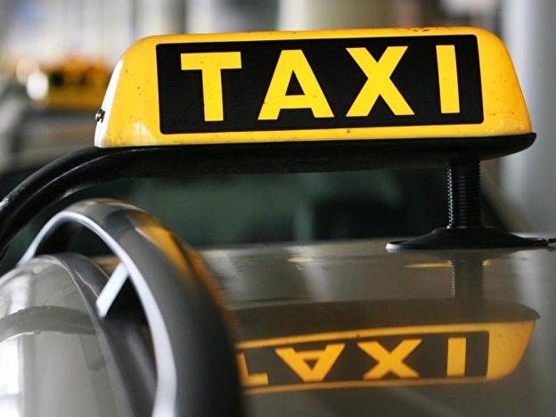Taxifahrt.